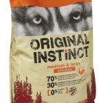 Test croquette chien original instinct