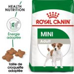 Test croquette chien mini adult royal canin
