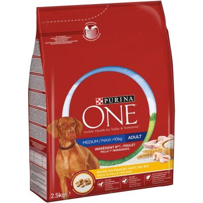 test croquette chien purina one